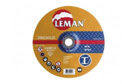Disco Corte Metal Leman 230 mm